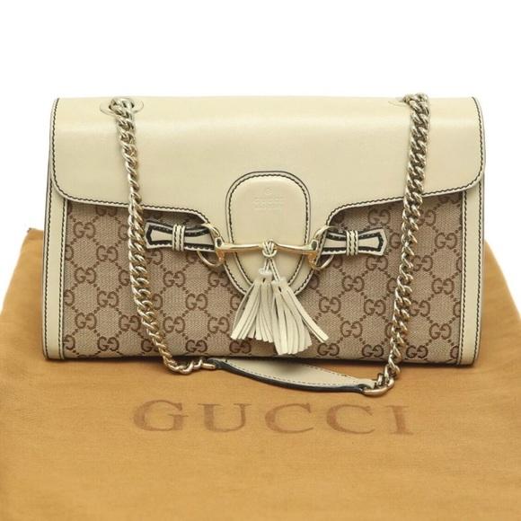c26a4a0a16d1 Gucci Bags | Pre Owned Authentic Emily Shoulder Bag | Poshmark